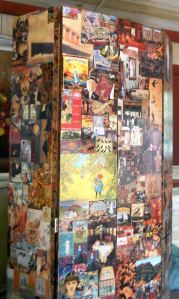 Original Decoupage by JUDE PEDERSON, Canadian Craft Artist, Quesnel, B.C. Canada 2014 (c) Copyrighted All rights reserved