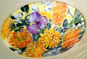 Original Watercolor EMILY ALSTON SCHOLEN, Canadian Painter, Quesnel, B.C., Canada 2014 (c) Copyrighted All Rights Reserved