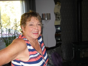 My cousin, Leah Seabrook, Canadian watercolor painter, Quesnel, B.C., Canada