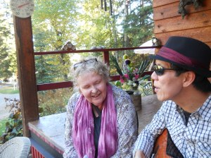 SINGING WITH A WONDERFUL GUITAR PLAYER!!