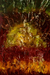 5 ELEMENTS - Earth #4 Original acrylic 24 x 36 inches April 2013 (c) - Copyrighted All rights reserved - Copy - Copy